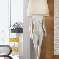 Direct light floor lamp COD WOM1 by Bizzotto | design Tiziano Bizzotto
