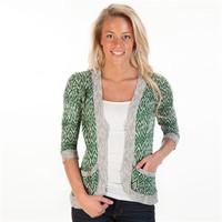 Absolutely Juniors Diamond Knit Cardigan at Von Maur