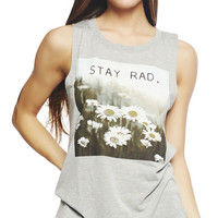 Stay Rad Tank | Wet Seal