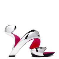 Julian Hakes Mojito Shoe in Chrome Fuchsia