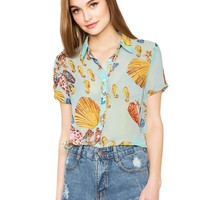 Under the Sea Blouse