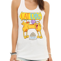 CatDog Chow Time Girls Tank Top