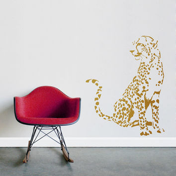 Spotted Cheetah Wall Decal