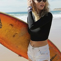 FP Movement x Zinke Womens Crop Rashguard
