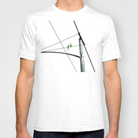 Love Birds Geometry T-shirt by RichCaspian