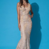 Jovani 88155 Lace Evening Gown