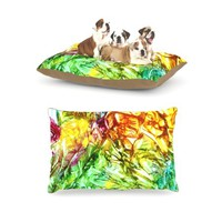 "Kess InHouse Rosie Brown ""Kaleidoscope"" Fleece Dog Bed, 30 by 40-Inch"