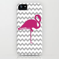Chevron Flemingo iPhone & iPod Case by C Designz