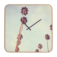 Catherine McDonald Streets Of Los Angeles Custom Clock