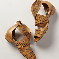 Abbey Lasercut Sandals