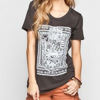 BILLABONG Let's Shake Hands Womens Tee