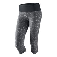 Nike Epic Lux Printed Women's Running Capris - Dark Grey