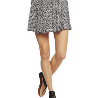 Aztec Skater Skirt | Wet Seal