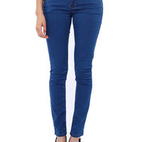 Papaya Clothing Online :: TRIO BUTTON HIG WAIST JEANS