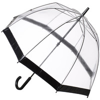 Buy Fulton Birdcage Domed Umbrella, Black online at John Lewis