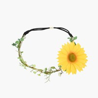 Sunflower Head Piece