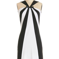 ModCloth Vintage Inspired Mid-length Sleeveless Sheath Number One Stunning Dress
