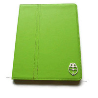 Slim Summer Lime Green Synthetic Leather iPad 2/ iPad 3 by Yoju