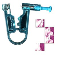 New body piercing tool piercing gun and ear stud,mechanical design,single-use