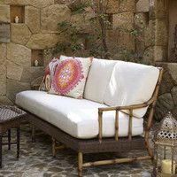 """South Terrace"" Outdoor Sofa - Horchow"