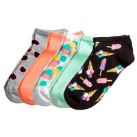 5-pack Ankle Socks - from H&M