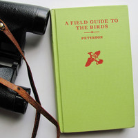 Illustrated A Field Guide To The Birds by Roger Tory Peterson 1959