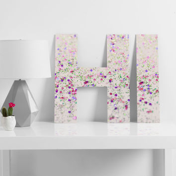 Lisa Argyropoulos Cherry Blossom Spring Decorative Letters