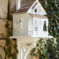 &quot;Honeymoon Cottage&quot; Birdhouse - Horchow