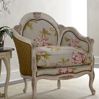 "Old Hickory Tannery - ""Fiore"" Chair - Horchow"