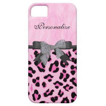 Monogram, Diamond Bow, Cheetah Skin iPhone 5 Cases