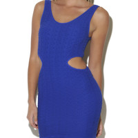 Cutout Ribbed Tank Dress - ArdenB