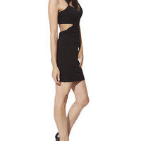 Cutout Fitted Dress | Arden B