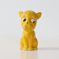 Vintage Yellow Dog
