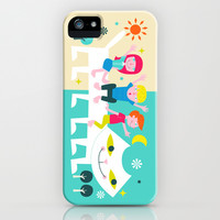 Dreams all day and night iPhone & iPod Case by Andy Westface