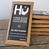 ALMOND BUTTER & PUFFED QUINOA DARK CHOCOLATE BAR - Modern Farmer Store