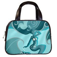 Blue Mermaid Classic Handbag (One Side)