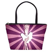 Mary Pin-Up Large Shoulder Bag