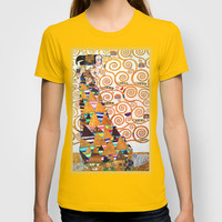 Love & Expectation - Gustav Klimt T-shirt by BeautifulHomes