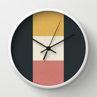 3 Stages Wall Clock by Josh Franke