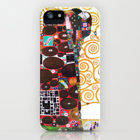 Love & Fulfillment - Gustav Klimt iPhone & iPod Case by BeautifulHomes