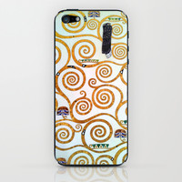Gustav Klimt Tree of Life  iPhone & iPod Skin by BeautifulHomes
