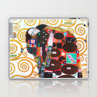 Love & Fulfillment - Gustav Klimt Laptop & iPad Skin by BeautifulHomes