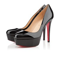 bianca 120mm black patent leather