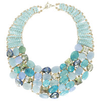Coast of Santorini Necklace - Made in Italy