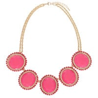 Pink Parisian Lady Necklace