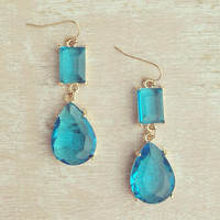 IG Sale - Aqua Gala Earrings