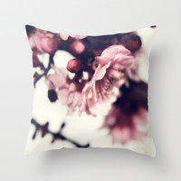 Rain Drop Throw Pillow by DuckyB (Brandi)