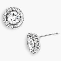 Nadri Round Cubic Zirconia Stud Earrings | Nordstrom