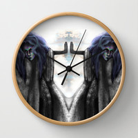 Neurotoxin Wall Clock by Ben Geiger