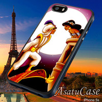 Aladin and Jasmine - Samsung Galaxy S2/S3/S4,iPhone 4/4S,iPhone 5/5S,iPhone 5C,Rubber Case,Cell Phone,Case,Accessories - 231013/CA5